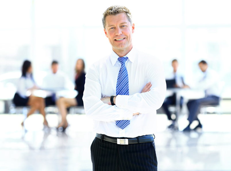 a successful businessman The way you handle your daily schedule is the first thing to look for when searching for a reliable business partner.