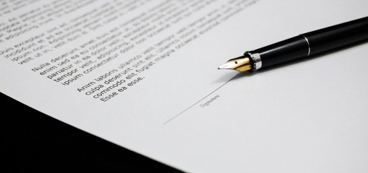 Documents Paper Document Sign Business Agreement