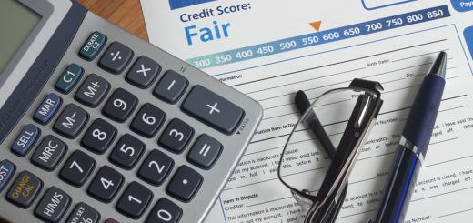 bigstock-Credit-Report-With-Score-95558396